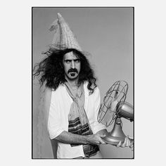 Frank Zappa By Andrew Kent, $75, now featured on Fab.