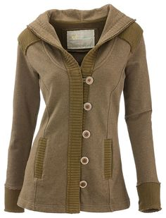 Natural Reflections Rib Terry Hoodie for Ladies | Bass Pro Shops