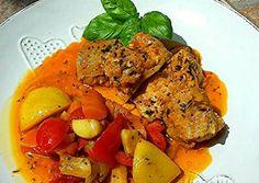 Marokkói hal, csípős zöldségágyon Pot Roast, Tandoori Chicken, Curry, Cooking, Ethnic Recipes, Cook Books, Food, Carne Asada, Kitchen