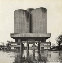 Silos, Paris, Luc and Xavier Arsène-Henry, 1968 (now demolished)