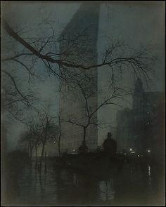 Edward Steichen, The Flatiron, 1904, printed 1909
