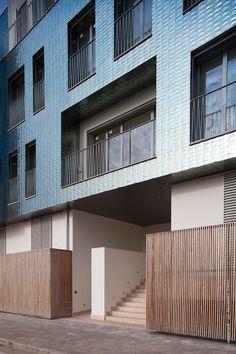 Residenza Brescia - Diamante Boa by Casalgrande Padana ©newerredi ph Alexandro Berto #diamanteboa #brescia #casalgrandepadana #piastrelle #ceramica #ceramics #design #architecture #architettura #università #interiordesign #residenzabrescia