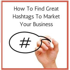 Hey All, Here is our #TuesdayQuiz. How To Find Great #Hashtags To Market Your #Business?