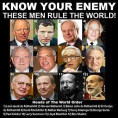 Players: The Who's Who in the New World Order of the Illuminati.