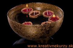 Vyroba plavajucich sviecok #diy #candles