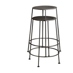 Set of 2 Iron Zinc-finish Counter Stools (India) - Overstock™ Shopping - Top Rated Bar Stools