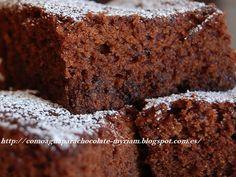 COMO AGUA PARA CHOCOLATE: BIZCOCHO DE CHOCOLATE EN MICROONDAS EN 15 MINUTOS.