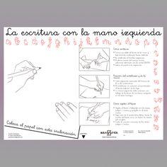 AE01 Plantilla escolar Mano Zurda