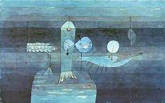 Paul Klee (1879-1940) Guter Fischplatz (Good Place for Fish), 1920 (138).