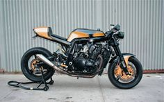 Suzuky GSX-R 1100 Cafe Racer from USA #motorcycles #caferacer #motos   caferacerpasion.com