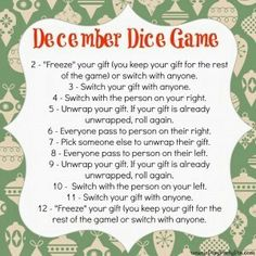 love it xmas games christmas present exchange games christmas gift craft ideas games - Christmas Party Games For Large Groups