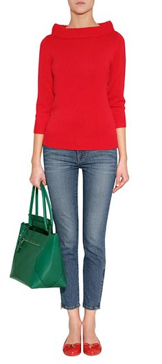 Loods like a casual Jackie O outfit. Very Chic.