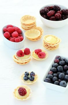 Mini Berry Tarts