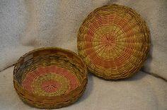 """6"""" Vintage Sewing Basket"""