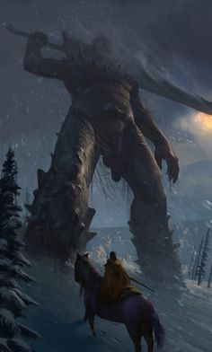 The Mountain Demon by KangJason.deviantart.com on @deviantART