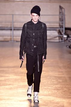 Boris Bidjan Saberi MEN | Paris | Inverno 2014 RTW