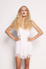 Plain Jane Playsuit - White $69.95