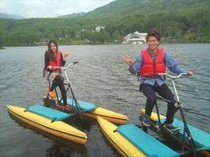 白樺湖水上自転車 - Goole検索