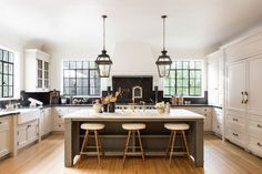 Tour a Nate Berkus and Jeremiah Brent house flip and our favorite weekend sales and shopping on Design Chic today. Nate Berkus, Kitchen Dining, Kitchen Decor, Kitchen Ideas, Kitchen Cabinets, Corner Cabinets, Kitchen Planning, Corner Cupboard, Dining Room