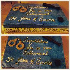 Correction Sgt Retirement Cakes