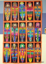 Egyptian Mummy Cases Paper