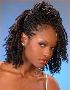Twist Braids Styles | Steps to Combat Dry Hair two strand twists braids protective ...