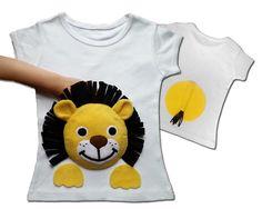 kids clothes, lion shirt, toddler boy, girls clothes, lion tshirt, girls infant clothing, applique shirt, children clothes, kids shirts, zoo