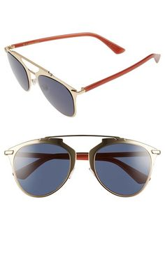 Dior 'Reflected' 52mm Sunglasses
