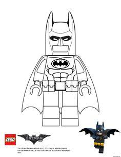 Coloriage Batman Lego Batman Movie Dessin à Imprimer