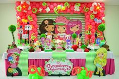 Strawberry Shortcake Party Prop Event by HelloSunStudio on Etsy