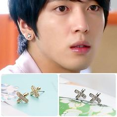[CNBLUE Style] X Piercing & Earring(Yong-hwa) $6 on kstargoods.com