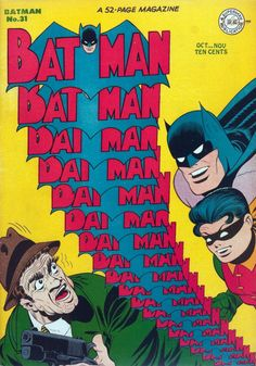 Batman is the best. Batman - Punch and Judy (Issue) Robin Comics, Dc Comics Art, Batman Comic Books, Batman Comics, Comic Books Art, Book Art, Silver Age Comics, Vintage Comic Books, Vintage Comics