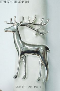 Luxry Gold Deer Napkin Ring For Christmas | DIY METAL CHARMS FUN |  Pinterest | Napkin Rings And Napkins