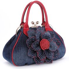 7dacd451a KAXIDY Ladies Girls Womens Denim Handbag Jean Bag Denim Shoulder Bag  Shopper Satchel Messenger Tote Bags · Bolsos ...