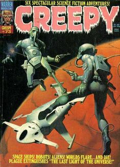 Cover for Creepy (Warren, 1964 series) #73 August 1975