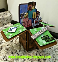 Ken's Kreations : MINECRAFT BIRTHDAY CARD