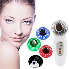 EZGO Beauty LED 3 in 1 Micro Vibration Anti Aging Photon Therapy Beauty Skin Care Machine Lightening Skin Rejuvenation Device ** Read more at the image link.