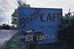 William Eggleston, Tennessee, (Bozo's Cafe),1972