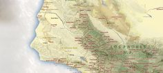 Map of California hiking trails