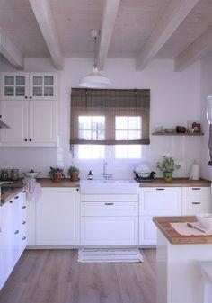 Time for Fashion Ikea Kitchen, Kitchen Redo, Kitchen Interior, Interior Design Living Room, Kitchen Remodel, Kitchen Design, Beach House Kitchens, Home Kitchens, Kitchen Space Savers