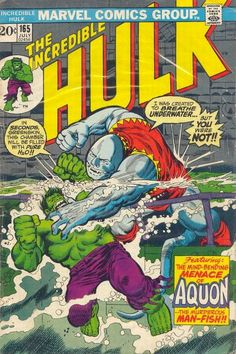 Incredible Hulk #165 by Herb Trimpe (July, 1973)
