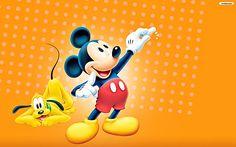 walt disney mickey mouse logo Walt Disney Wallpapers Pluto Mickey ...