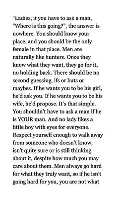 Oh my goodness! This needs to be shared everywhere! Live for YOURSELF ladies…