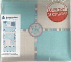 Treasuring Time Premade Album Winter 20-8969 by Provo Craft Scrapbook #ProvoCraft