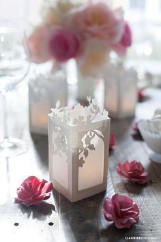 Spring in Bloom Paper Lanterns