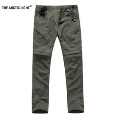 Buy THE ARCTIC LIGHT Men quick-drying pants Waterproof breathable perspiration UV trousers cycling outdoor Camping Hiking Hiking Pants, Outdoor Camping, Quick Dry, Arctic, Cycling, Trousers, Pocket, Men, Fashion