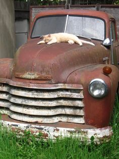 Dad's Old Truck ll or Taking A Break note by CarlasCreativeCorner, $3.50