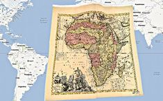 AfricaMap: includes slave ports (by # ships and people), trade routes, railroads, etc