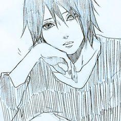 Sasuke, Looking Confused