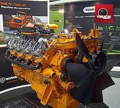 POLLUTEC 2012 : ecosolution, moteur Scania très vitaminé ;-) André
